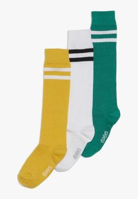 Ewers - KINDERKNIESTRUMPF 3 PACK - Polvisukat - grün/gelb/weiß - 0