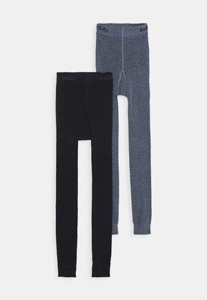 2 PACK - Leggings - Stockings - marine/phlox