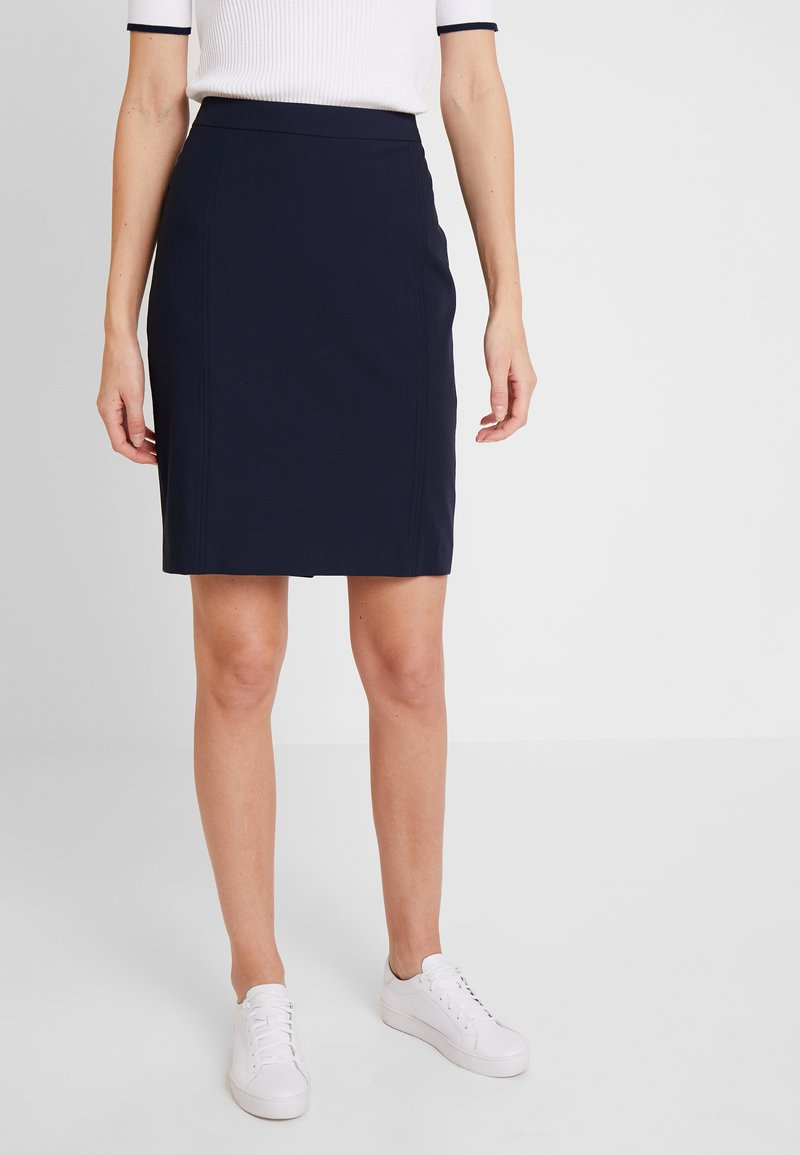 Expresso - XANNE - Pencil skirt - navy