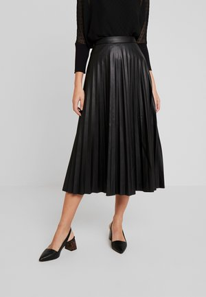 MINTSKE - A-line skirt - schwarz