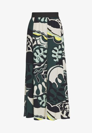 CUIN - A-line skirt - dunkelgrün