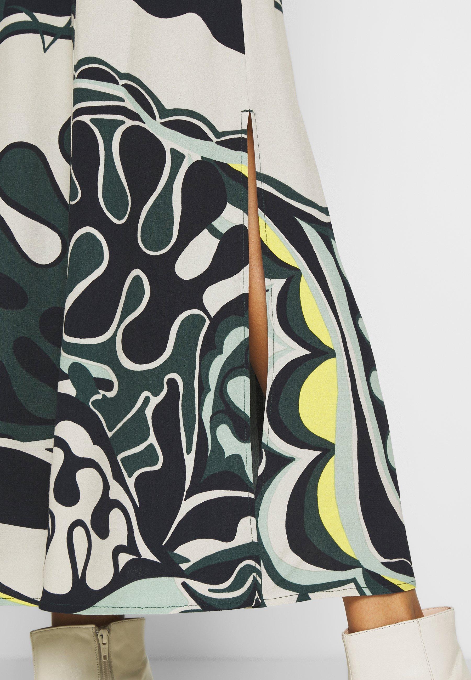 Expresso CUIN - A-line skjørt - dunkelgrün