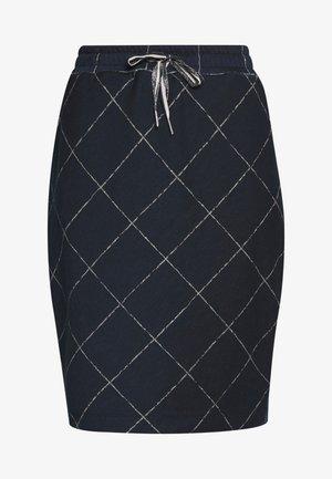 BIBI - Pouzdrová sukně - dunkelblau