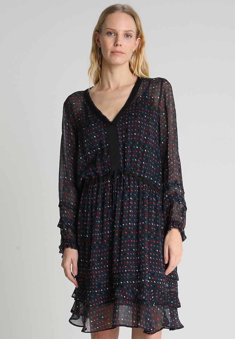 Expresso - ANKE - Day dress - stahlblau