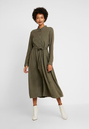 LOULOU - Košilové šaty - olivgrün