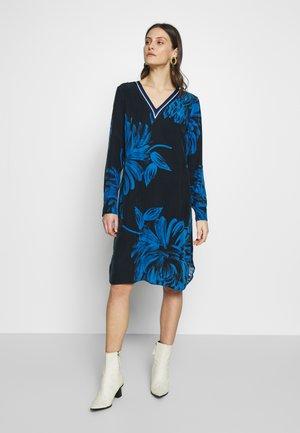 BIBIAN - Korte jurk - dunkelblau
