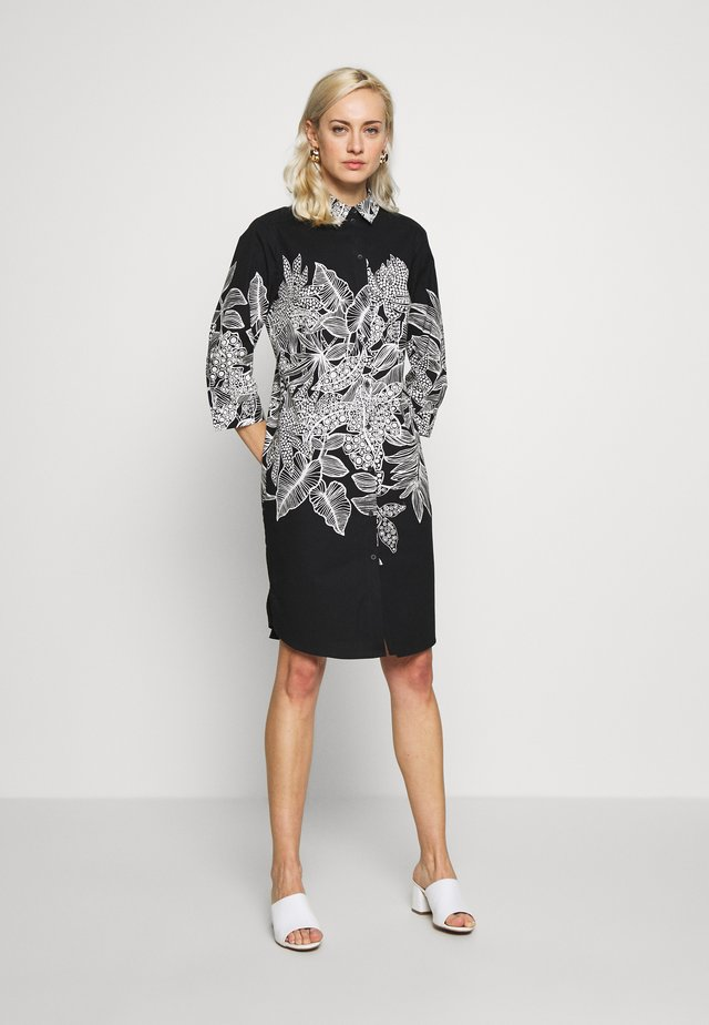 DAVAN - Skjortklänning - schwarz