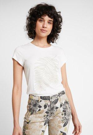 FANNY - T-shirt print - gebrochen weiß