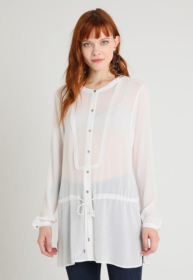 Bluse - gebrochen weiß