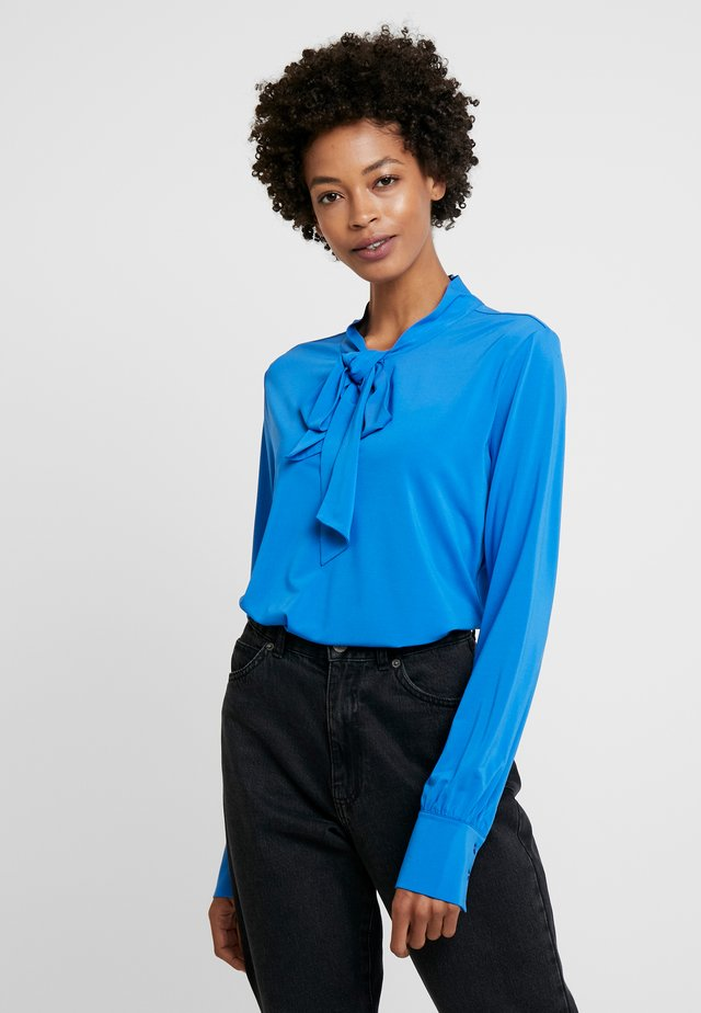 KEISHA - Langærmede T-shirts - radiant blue