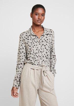 PIA - Overhemdblouse - beige meliert