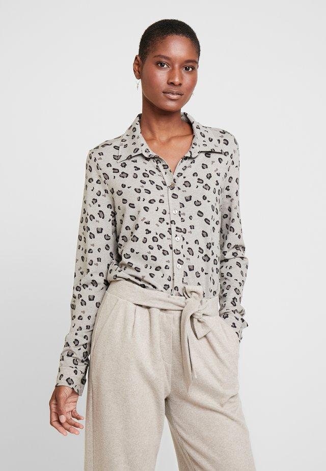 PIA - Skjorte - beige meliert