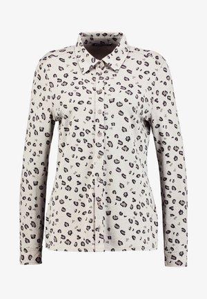 PIA - Košile - beige meliert