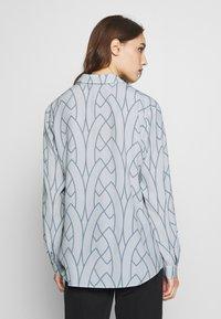 Expresso - AAGJE - Button-down blouse - hellgrau - 2