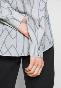 Expresso - AAGJE - Button-down blouse - hellgrau - 4