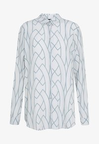 Expresso - AAGJE - Button-down blouse - hellgrau - 3