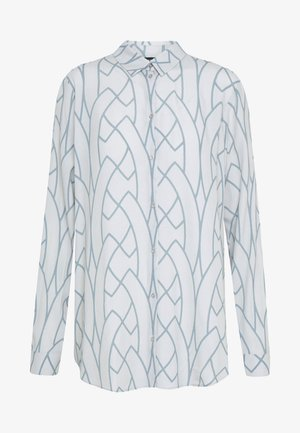 AAGJE - Button-down blouse - hellgrau