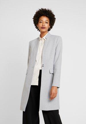 LEONIE - Krátký kabát - steel grey melange