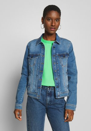 BERTHIE - Denim jacket - denim blau