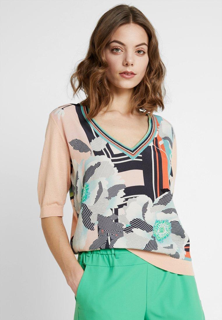 Expresso - T-Shirt print - pfirsich-orange
