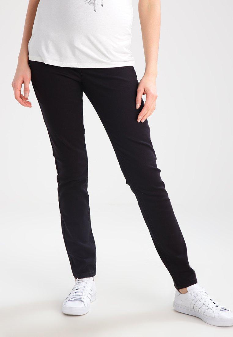 Anna Field MAMA - Jeans slim fit - black