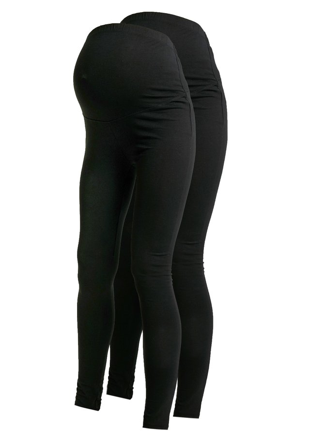 2 PACK - Legginsy - black