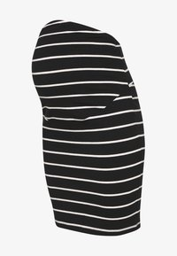 Anna Field MAMA - Pencil skirt - black off-white - 3