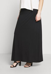 Anna Field MAMA - Falda larga - black - 0
