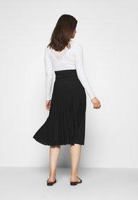 Anna Field MAMA - MATERTNIY SKIRT - A-line skirt - black - 2