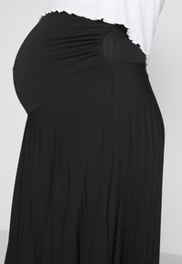 Anna Field MAMA - MATERTNIY SKIRT - A-line skirt - black - 4