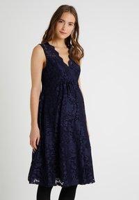 Anna Field MAMA - Vestido de cóctel - maritime blue - 0