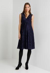 Anna Field MAMA - Vestido de cóctel - maritime blue - 1
