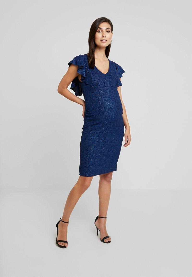 Anna Field MAMA - Vestido de tubo - blue