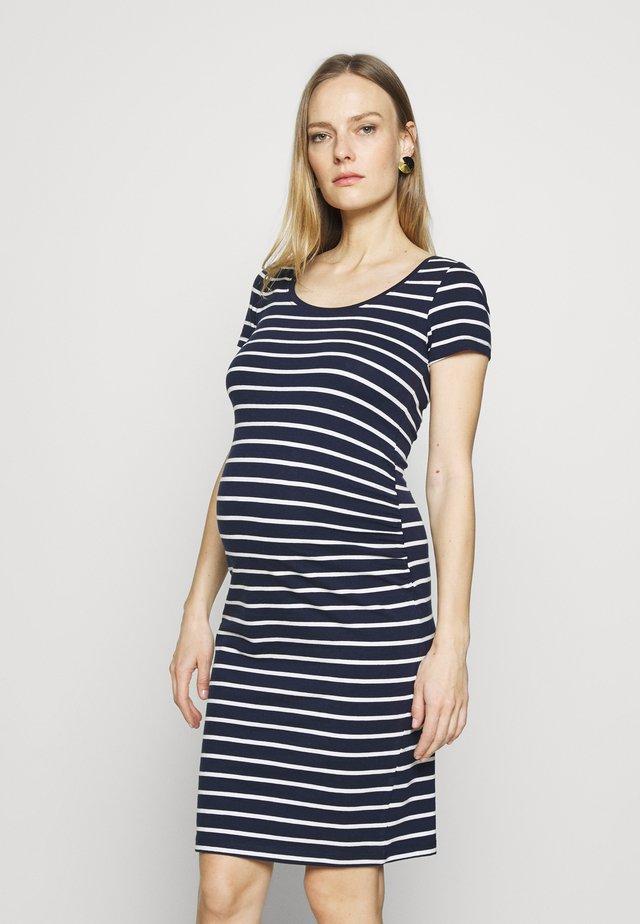 Žerzejové šaty - peacoat