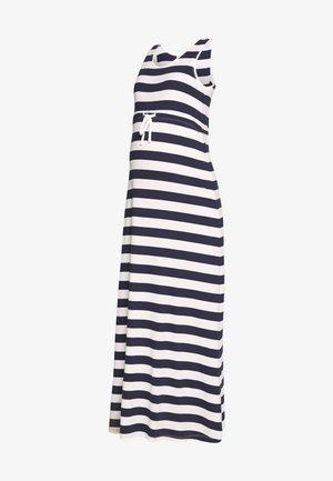 Vestido largo - peacoat