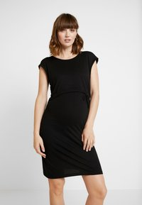 Anna Field MAMA - NURSING DRESS - Jerseykjole - black - 0