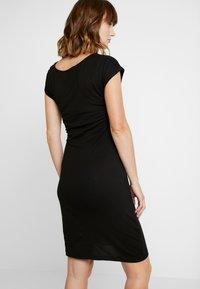 Anna Field MAMA - NURSING DRESS - Jerseykjole - black - 3