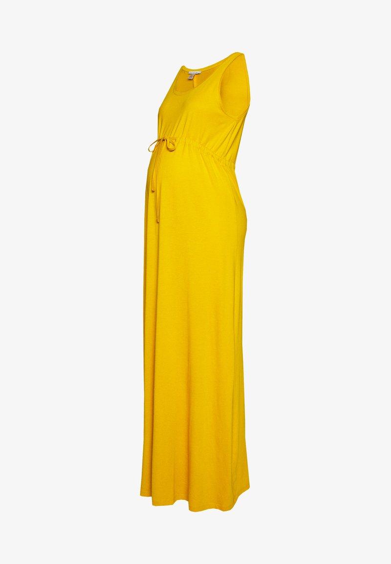 Anna Field MAMA - Długa sukienka - golden yellow