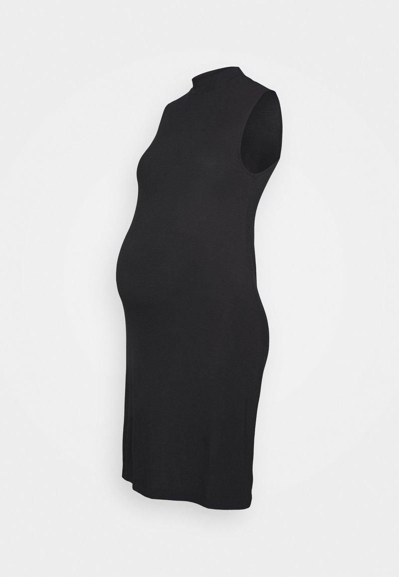 Anna Field MAMA - Sukienka z dżerseju - black