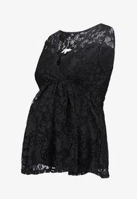 Anna Field MAMA - Blouse - black - 4