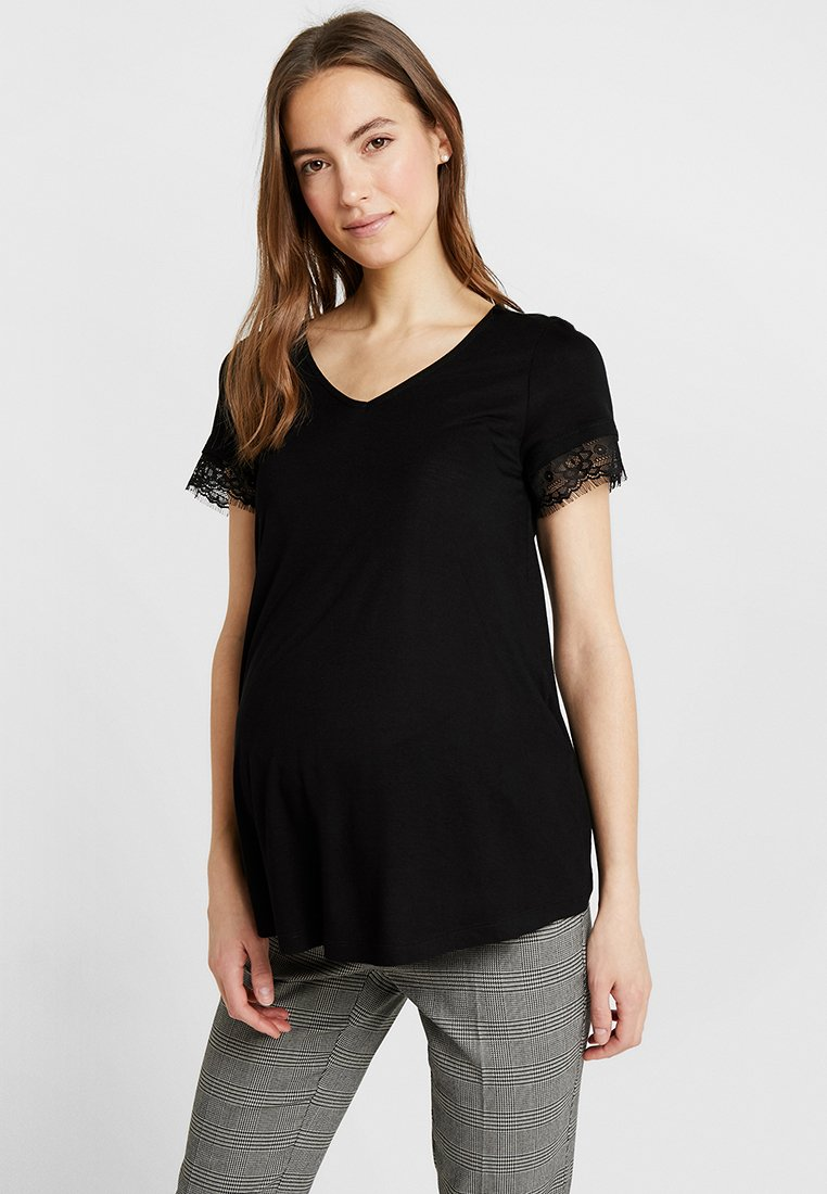 Anna Field MAMA - T-Shirt print - black