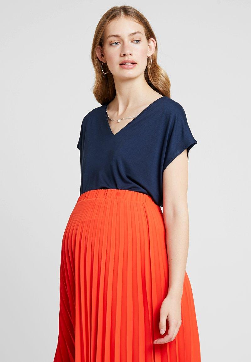 Anna Field MAMA - T-shirt - bas - navy blazer