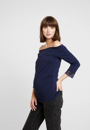 Långärmad tröja - maritime blue