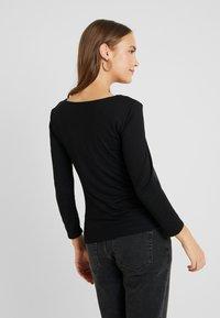Anna Field MAMA - Långärmad tröja - black - 2