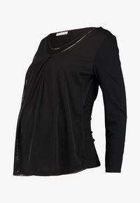 Anna Field MAMA - Långärmad tröja - black - 4