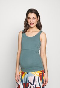 Anna Field MAMA - BASIC NURSING TOP - Topper - goblinblue - 2