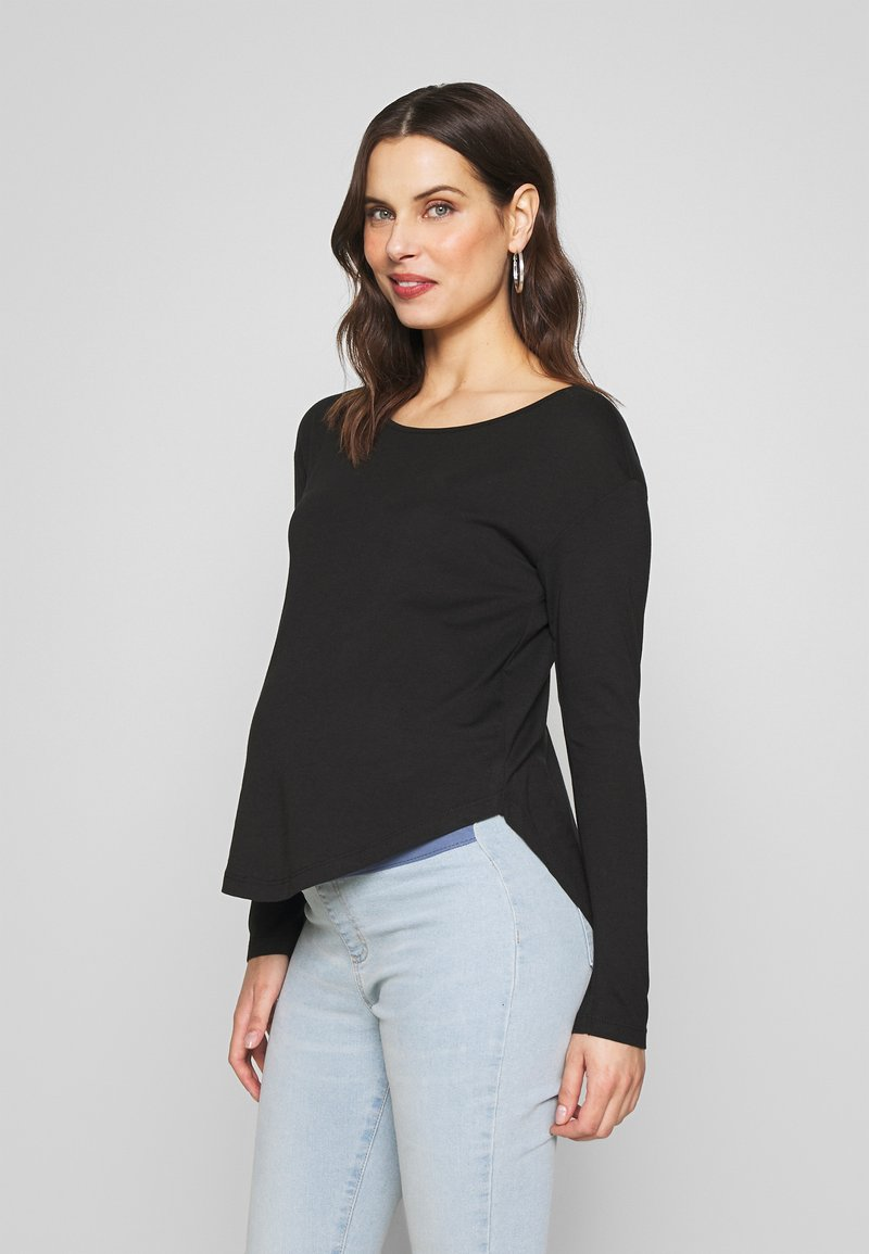 Anna Field MAMA - Long sleeved top - black