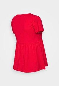 Anna Field MAMA - Print T-shirt - goji berry - 1