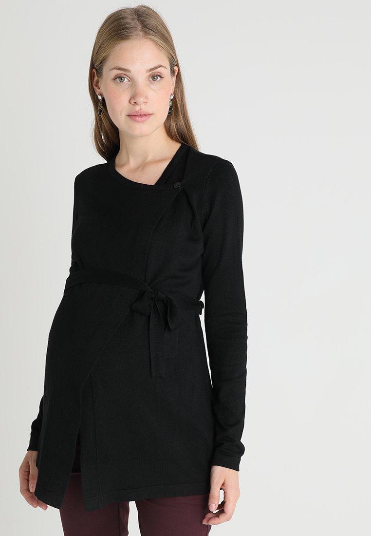 Anna Field MAMA - Stickad tröja - black