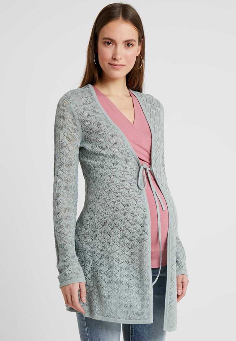 Anna Field MAMA - Strickjacke - light green